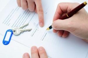 Подписание договора субаренды