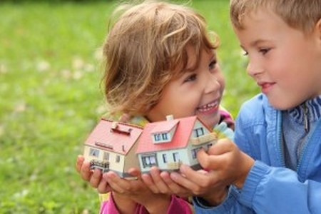 Оформляем дарственную на детей