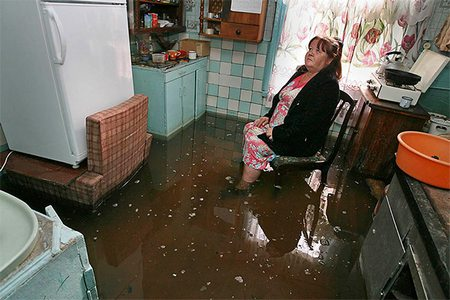 Квартира после затопления