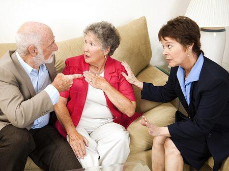 Договариваемся с родственниками