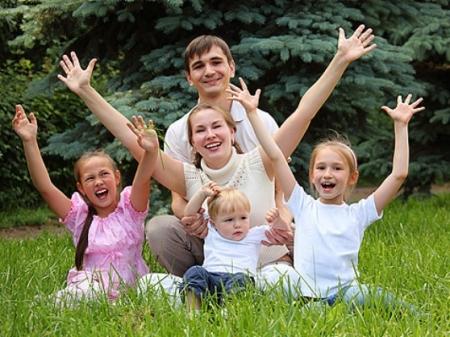 Семья, получившая участок