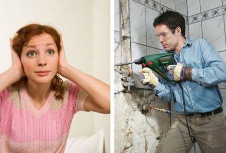 Соседи делают ремонт
