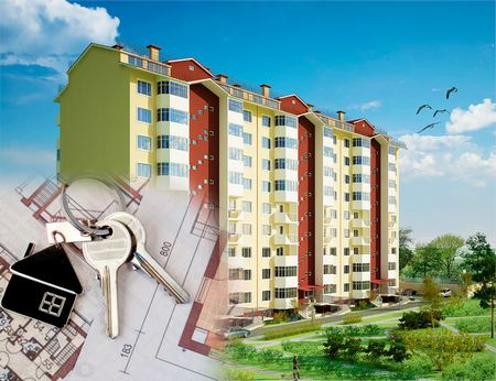 Недвижимость в новом многоэтажном доме
