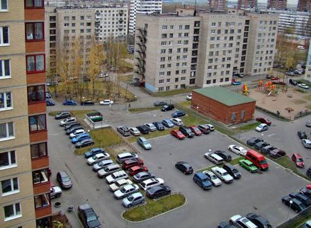 Огражденные паркоместа